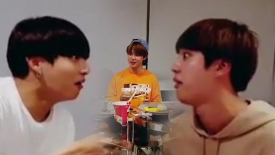 [BTS] 지진정2.. 살아있길 잘했다...( ˃̣̣̥ω˂̣̣̥ )💜  (Jin&JM&JK are back!)