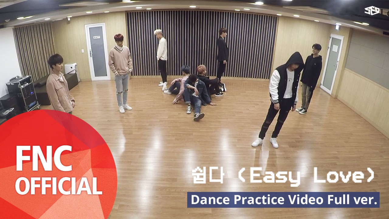 SF9 – 쉽다(Easy Love) 안무 연습 영상(Dance Practice Video) Full Ver.