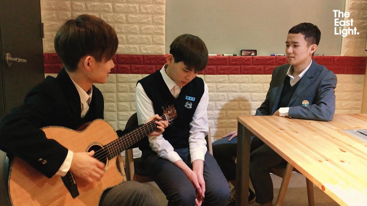 TheEastLight.  Sagang & Junwook & Eunsung- Coffee (BTS Cover)