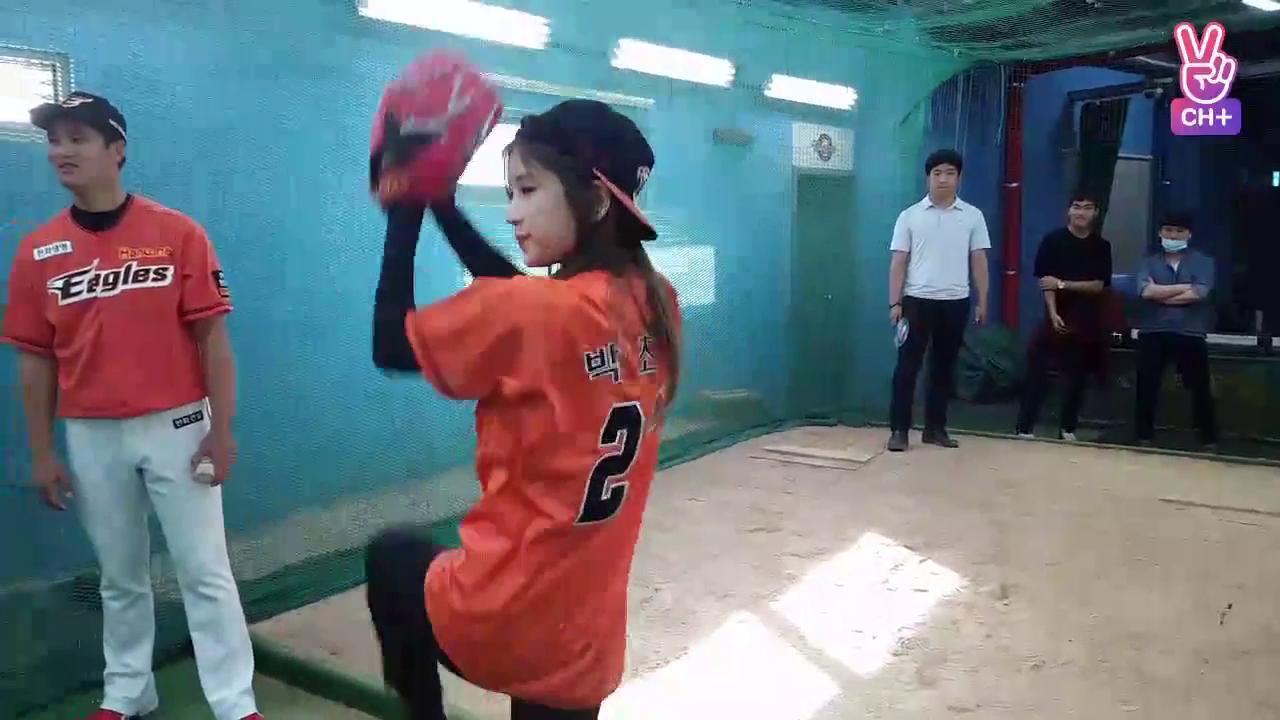 [자막용] Apink CH+ Chorong's DAY (초롱이의 시구 도전기) + Apink Broadcast CH+ 초롱의 시구연습