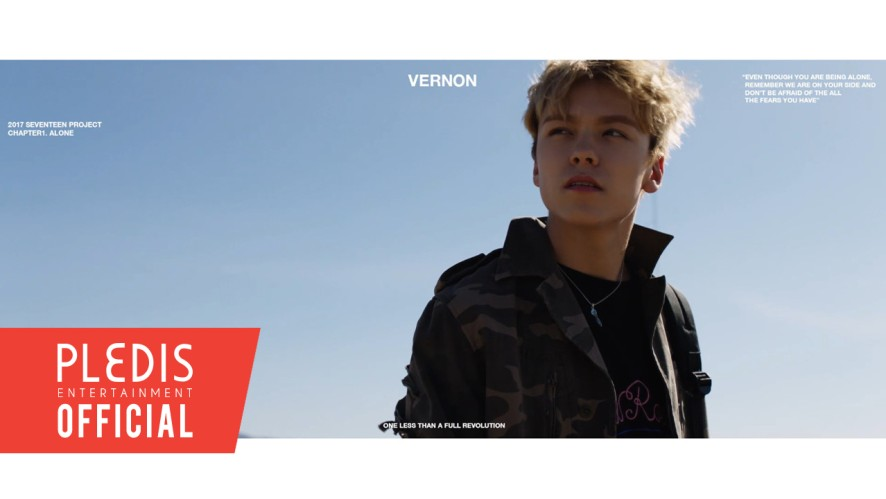 V LIVE - 2017 SEVENTEEN Project Chapter1  Alone Trailer #Vernon