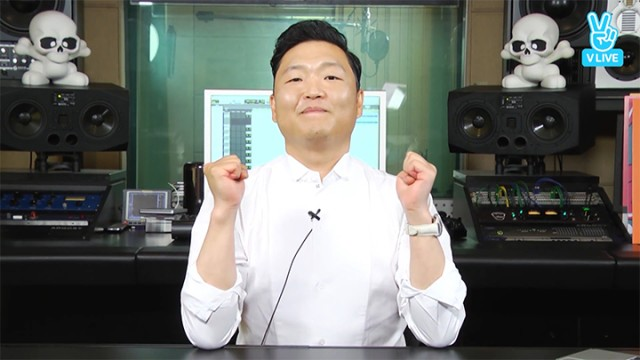 [PSY] 동안의 시작은 마흔부터! 4x2=8 싸!이!팔!집! (PSY releasing 8th album)