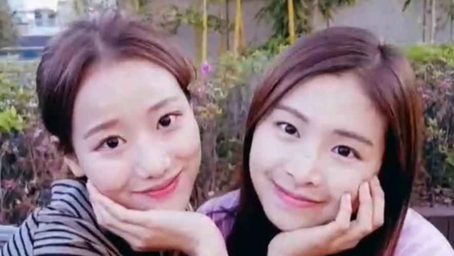 [April] 챈나은의 우당탕❗️스러운  5월의 어느날 (Chaewon&Naeun's V LIVE at the rooftop)