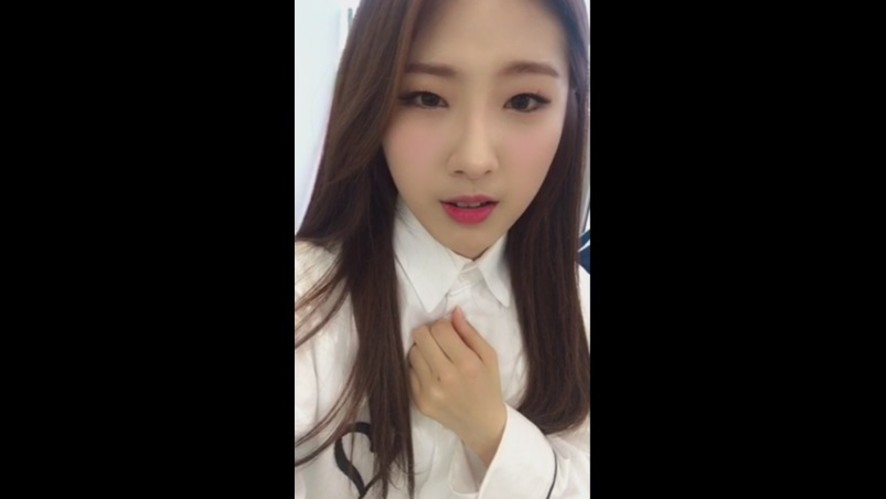 [이달의 소녀] 김립이 공개 직전 두근두근!! -하슬-