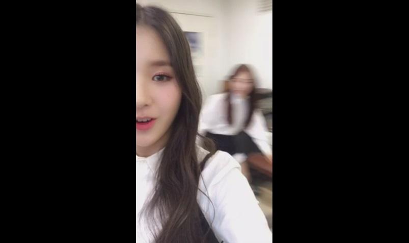 [이달의 소녀] 김립 'Eclipse' 화이팅! -희진-