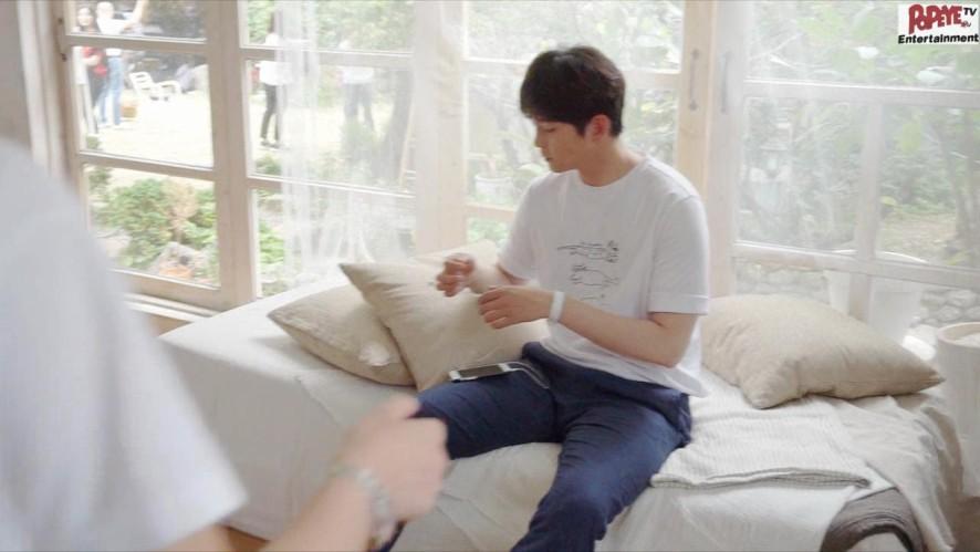 귱배우의 빛나는 화보 촬영 현장 메이킹 영상♥