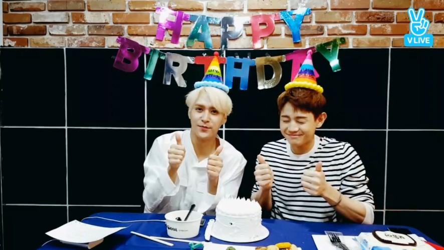 [HIGHLIGHT] 나이뜨한 💜동니퐁니💜 생일축하해! (Happy DONGWOON Day+1!)