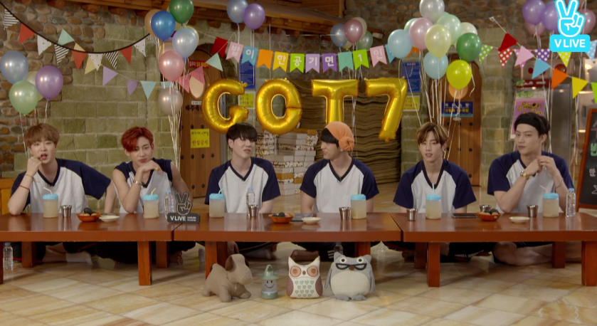 [Full] GOT7 X EATING SHOW - GOT7의 같이먹어요!