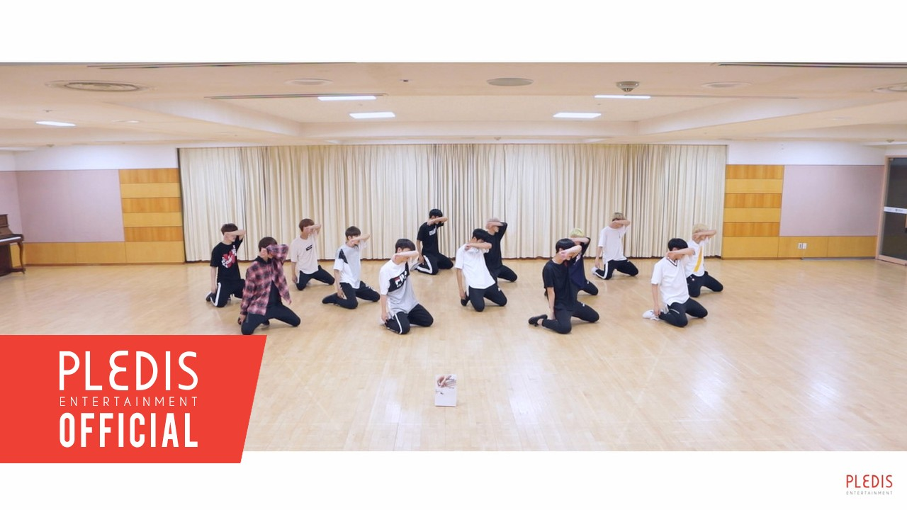 [Choreography Video] SEVENTEEN(세븐틴)-울고 싶지 않아(Don't Wanna Cry) Front Ver.