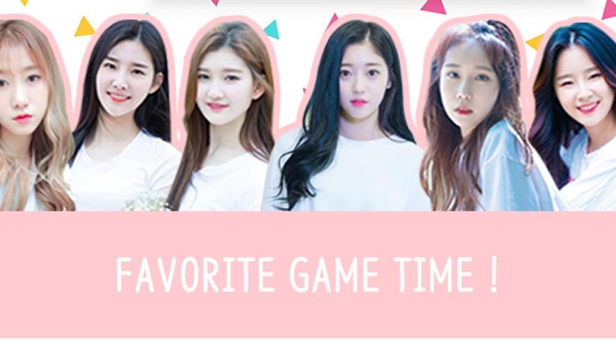 Favorite GAME TIME!