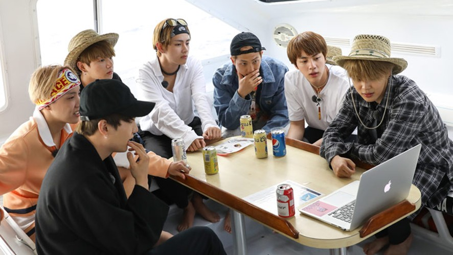 11576ea56356fb V LIVE - BON VOYAGE S2. EP1 Special Commentary Live