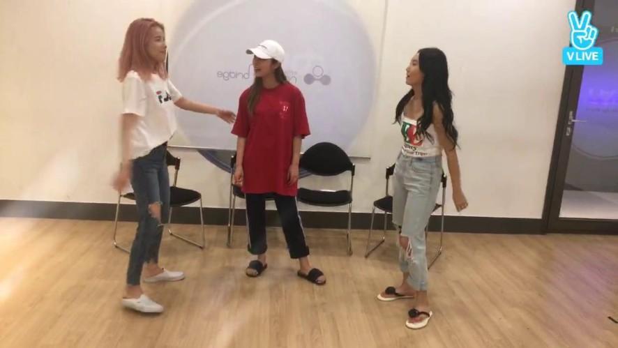 마마무 데뷔 3주년 V앱