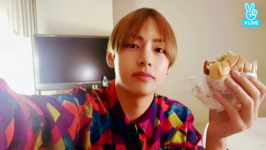 V LIVE - BTS Live : 김태형과 함께하는 고민상담소
