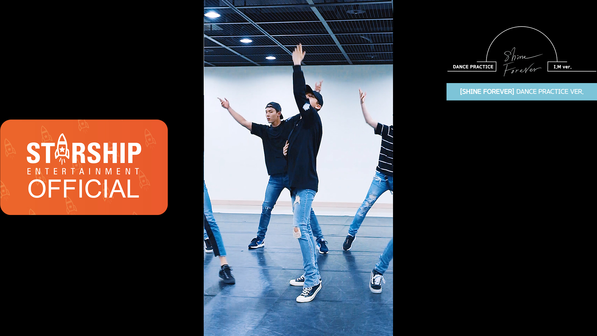 "7[I.M][Dance Practice] 몬스타엑스 (MONSTA X) - ""SHINE FOREVER"" Vertical Video"
