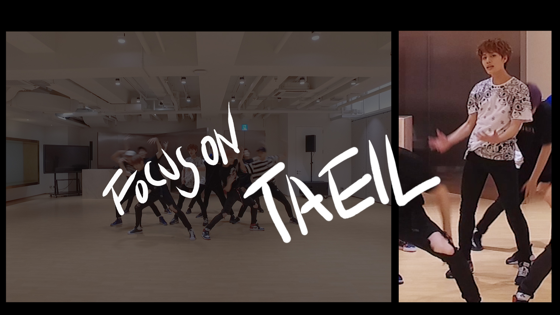 NCT 127 DANCE PRACTICE FOCUS ON ver. #TAEIL