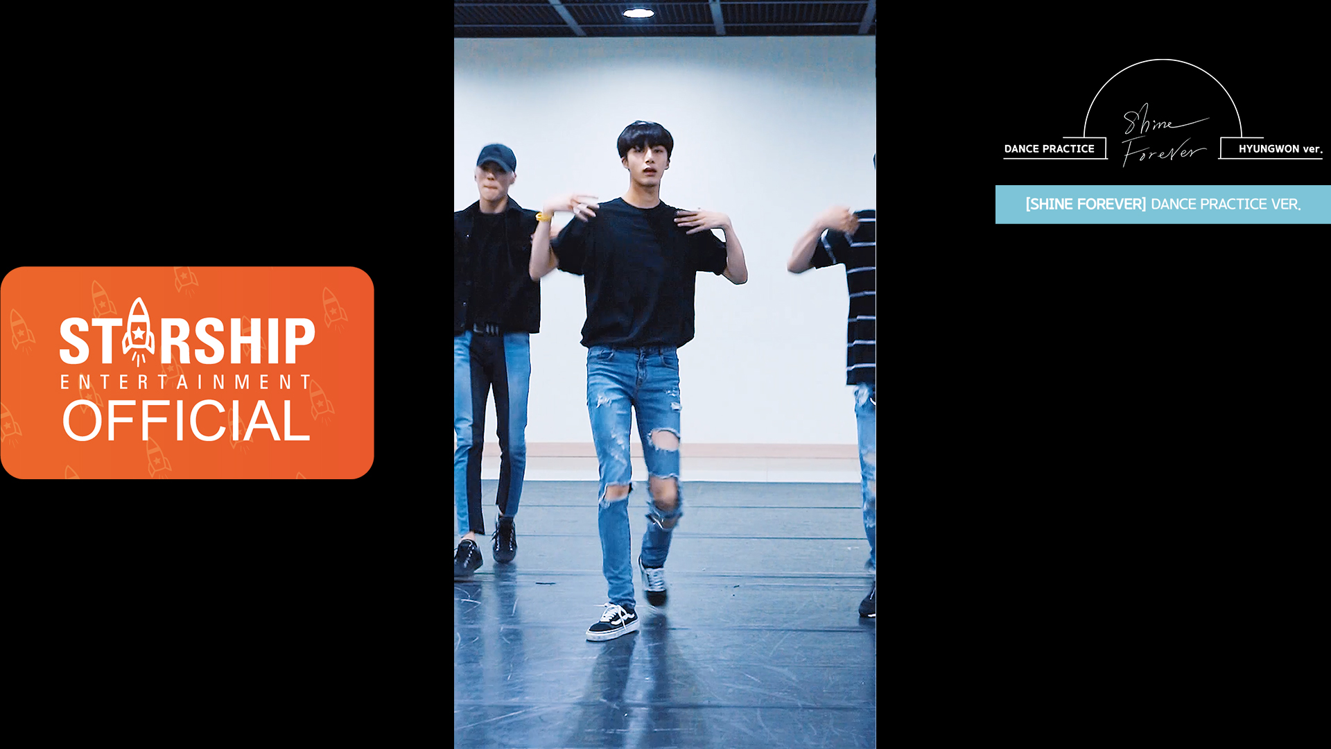 "5[HYUNGWON][Dance Practice] 몬스타엑스 (MONSTA X) - ""SHINE FOREVER"" Vertical Video"