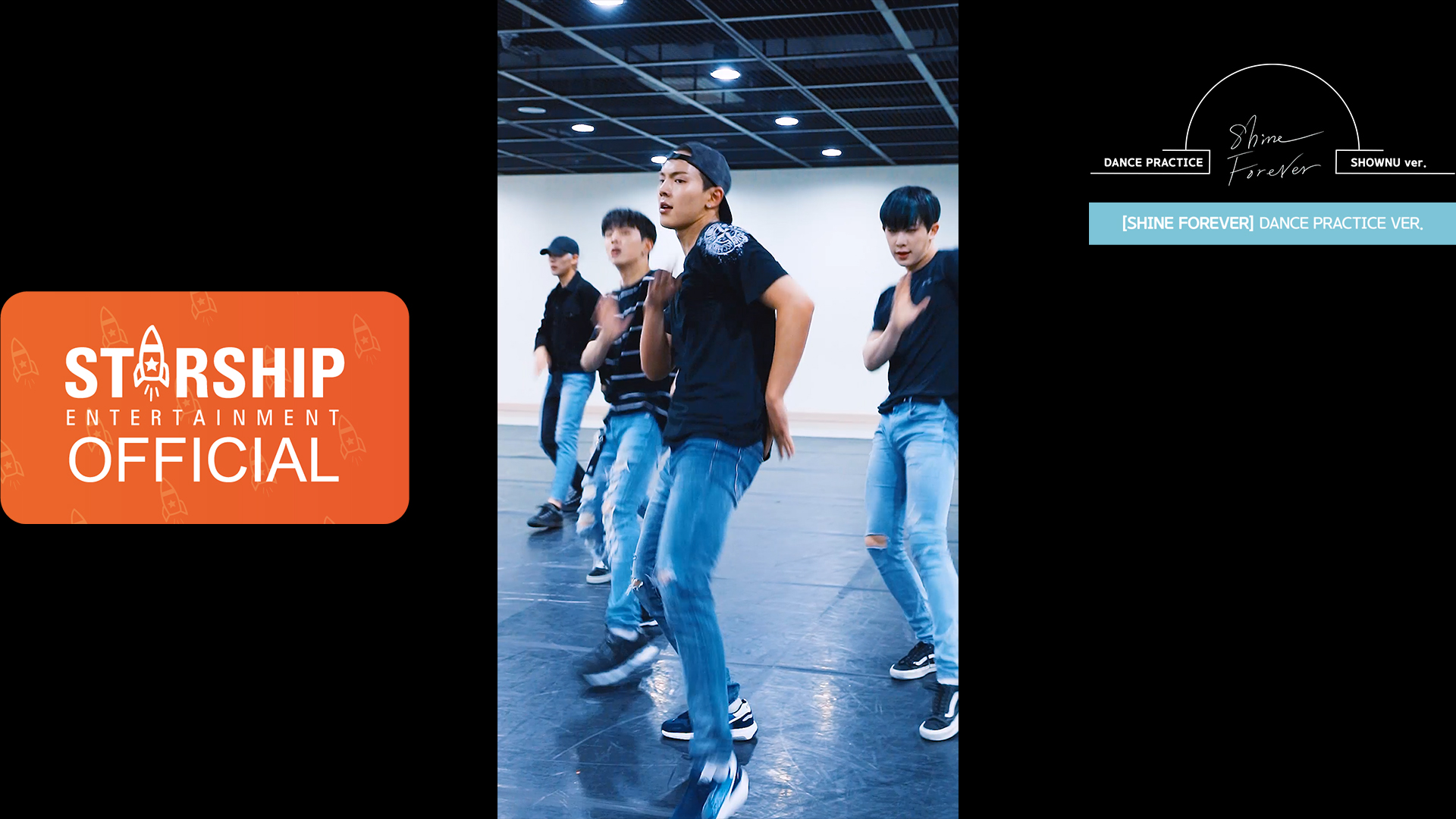 "1[SHOWNU][Dance Practice] 몬스타엑스 (MONSTA X) - ""SHINE FOREVER"" Vertical Video"