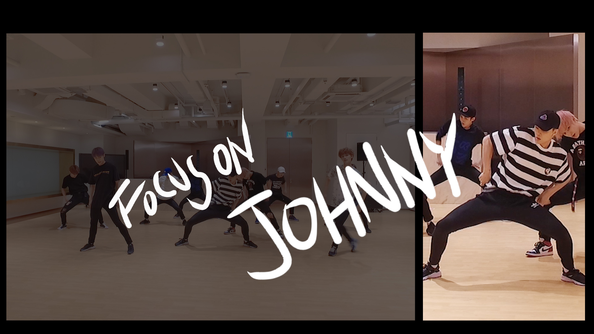 NCT 127 DANCE PRACTICE FOCUS ON ver. #JOHNNY