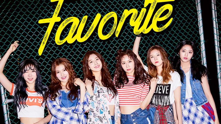 [Preview] Favorite (페이버릿) 1st Mini Album <My Favorite>