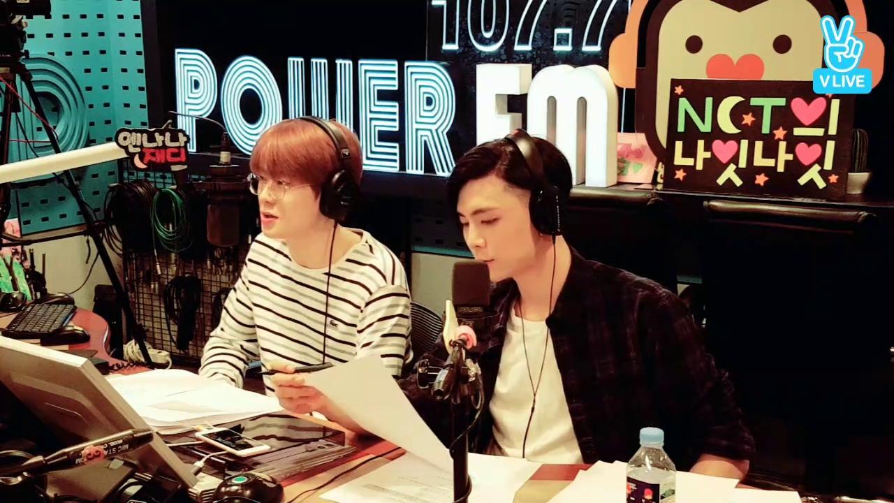 SBS 파워FM 'NCT의 나잇나잇' 생방송 현장! (재쟈의 방, HOT BODY)
