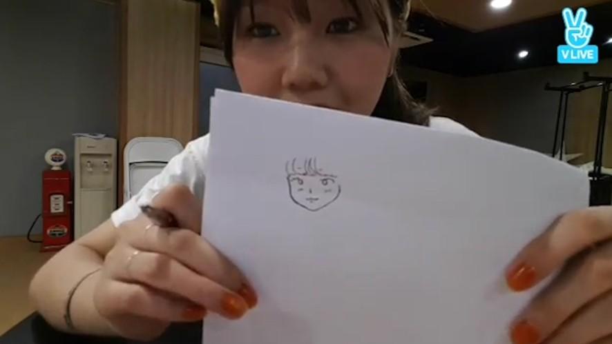 [OH MY GIRL] 밈미쌤의 그림교실 수강 욕구 950501%(MIMI's drawing class)