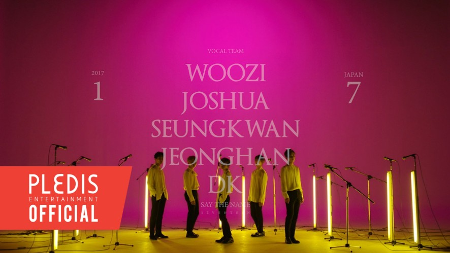 [SPECIAL VIDEO] '17 JAPAN CONCERT Say the name #SEVENTEEN' VOCAL Team VCR