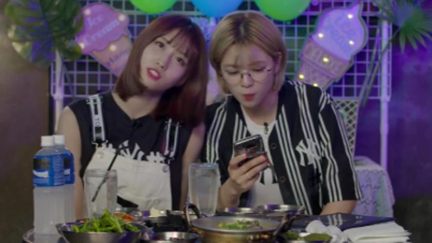 [Full] TWICE MOMO JEONGYEON X  EATING SHOW - 트와이스 모모 정연의 같이먹어요!