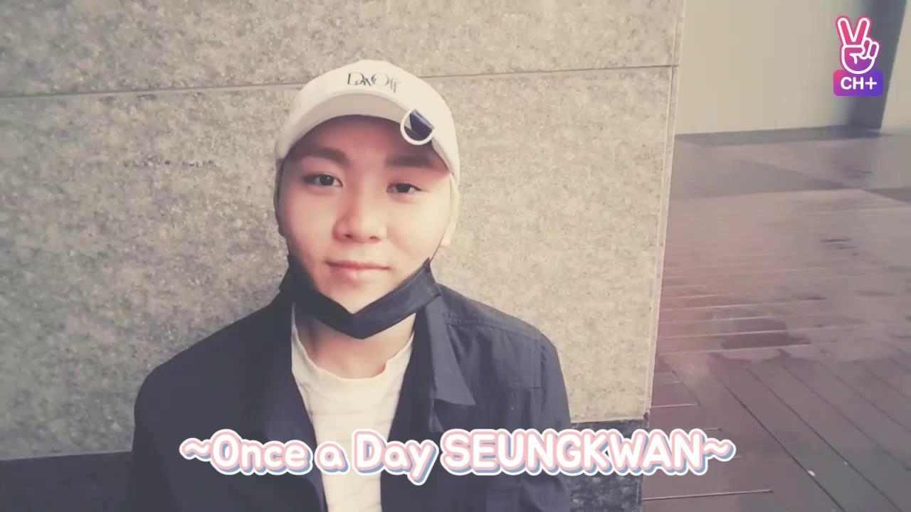 [CH+ mini replay]SEVENTEEN 'Once a Day SEUNGKWAN