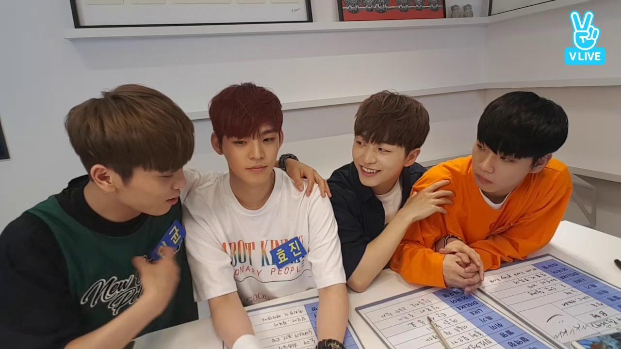 WM BOYS 첫 방송2