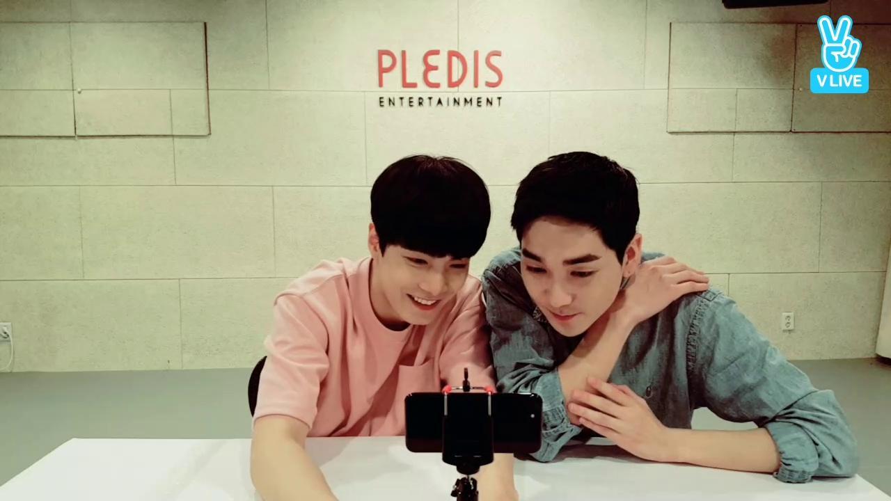 NU'EST V time : JR&Aron 함께해요❤️