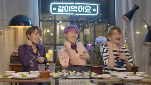 [101BOYS] 💝켄콜동 한우로드만 걷자💝(Kenta&Yongguk&DongHan eating beef)
