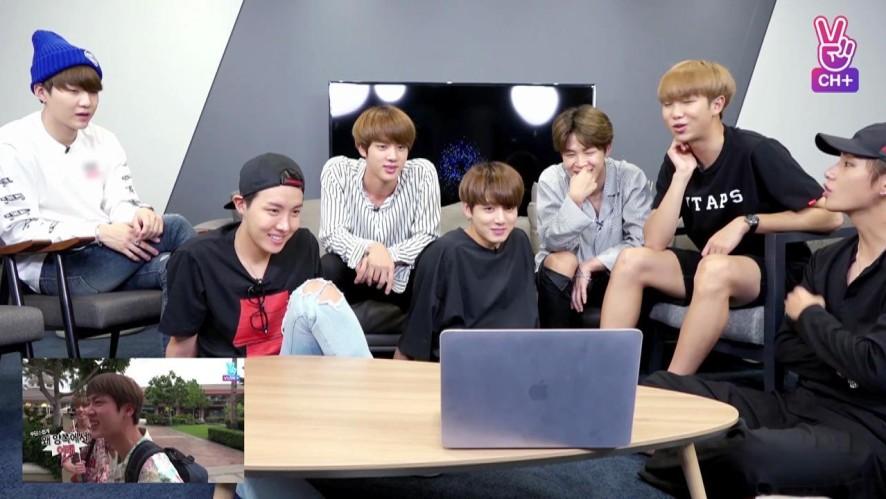 V LIVE - [BTS+] BON VOYAGE S2 EP1 Reaction