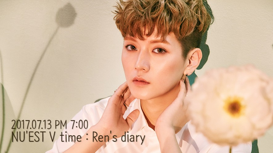 NU'EST V time : Ren's diary