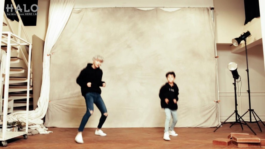 헤일로(HALO) 여기여기 Dance Collaboration by Heecheon(HALO)&Minhyung