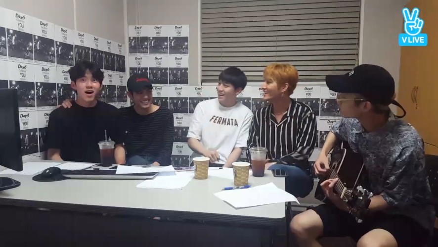 [DAY6] 열대야🌴 너 10대야^^ (DAY6 writing songs about hot summer night)