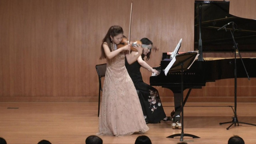 "[Kumho Art Hall]""The Violinists"" Yoo Jin Jang plays Stravinsky"