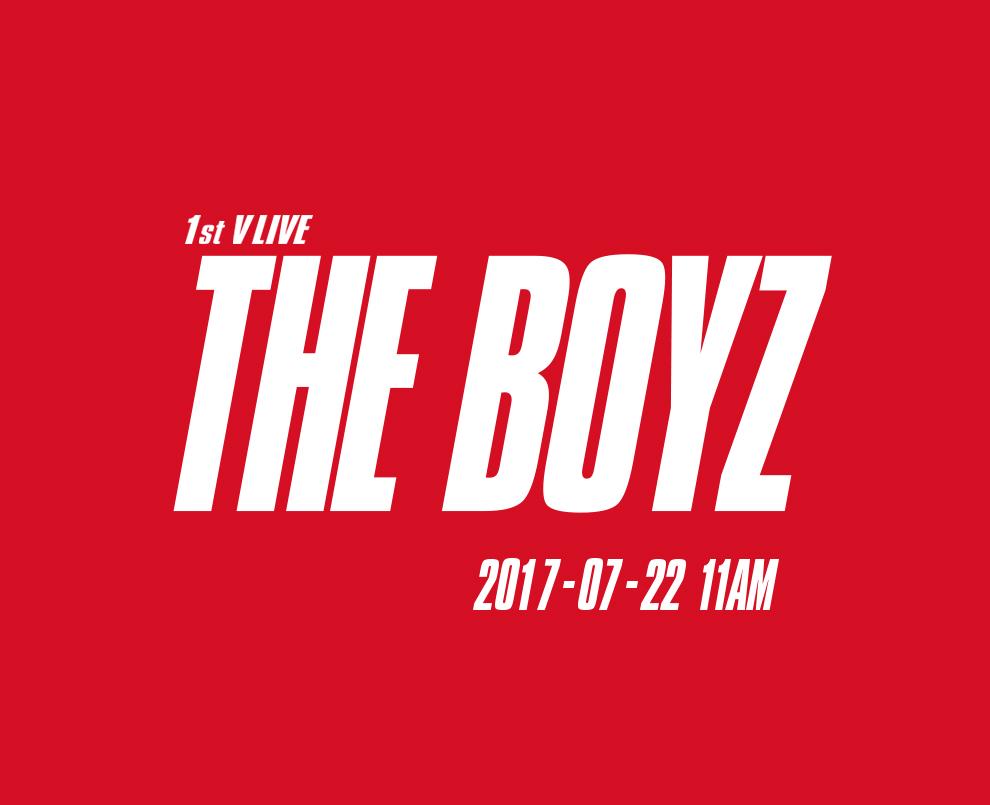THE BOYZ '1st V LIVE'