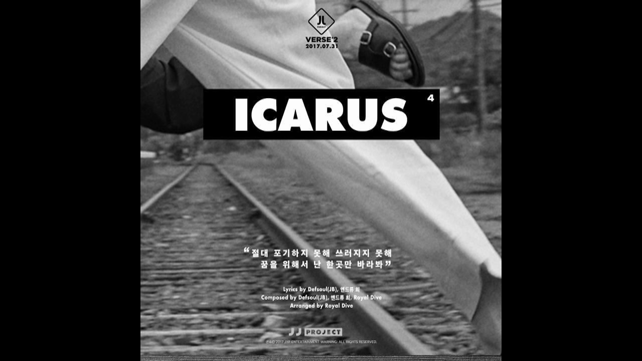 "JJ Project <Verse 2> Track Card 4 ""Icarus"""