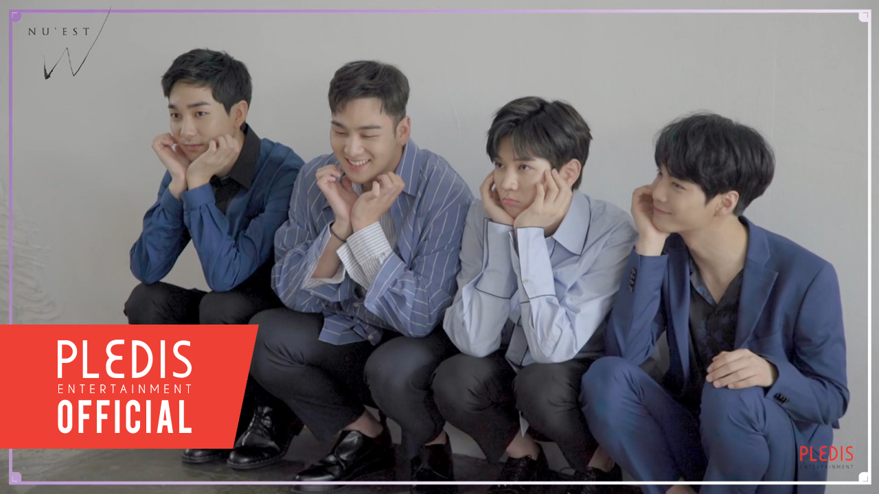 [SPECIAL VIDEO] NU'EST W Special Single '있다면' Profile Behind