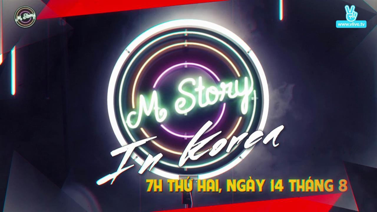 m story in korea teaser