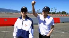 Ep. 15 SUHO & SEHUN Tour: Experiencing LA Circuit Race