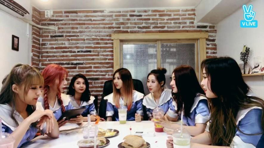 [드림캐쳐]'Prequel' 첫 팬사인회 전 깜짝 V라이브❣️
