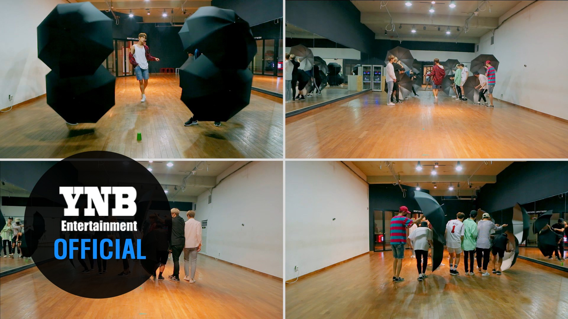 크나큰(KNK)_비(Rain) Choreography Video (4way cam ver.)