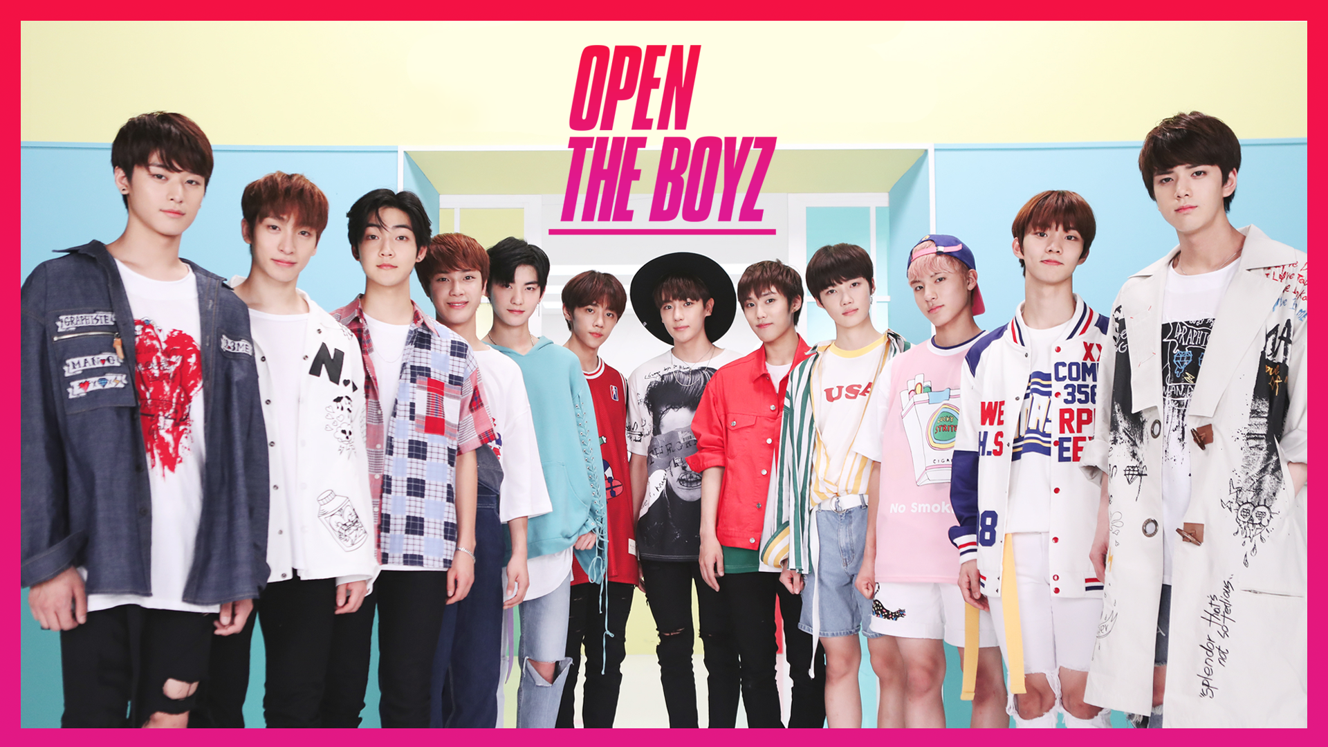 [오픈더보이즈(OPEN THE BOYZ)] Behind ver.