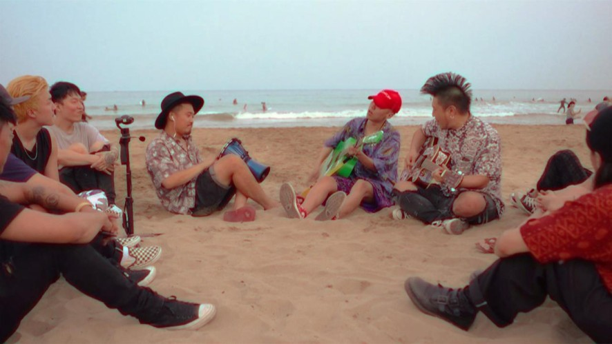 Sway D - Hurricane Love (Live at Songjeong Beach)