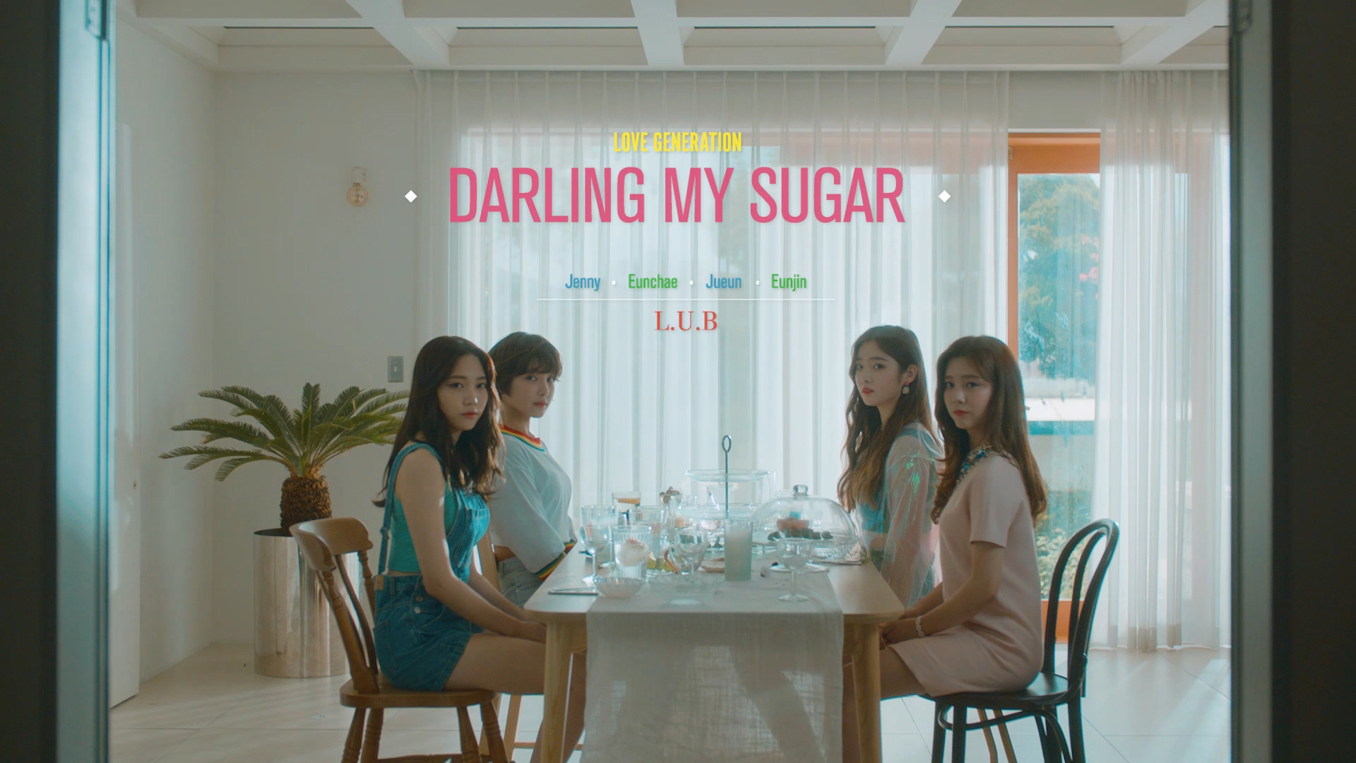 """[DIA]L.U.B """"DARLING MY SUGAR"""" MUSIC VIDEO"""