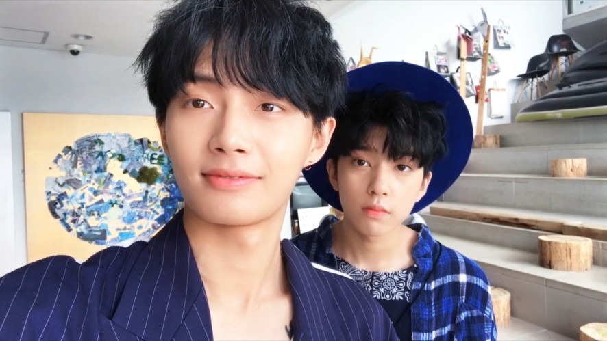 [BEHIND] LONGGUO & SHIHYUN (용국&시현) _ the.the.the _ Jacket Making Film