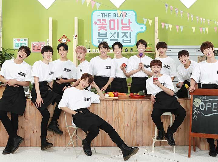 "[Full] 더 보이즈 '꽃미남 분식집' 1화 '우리는 영업중' The BOYZ ""Flower Snack"" ep.1 ""We're OPEN"""
