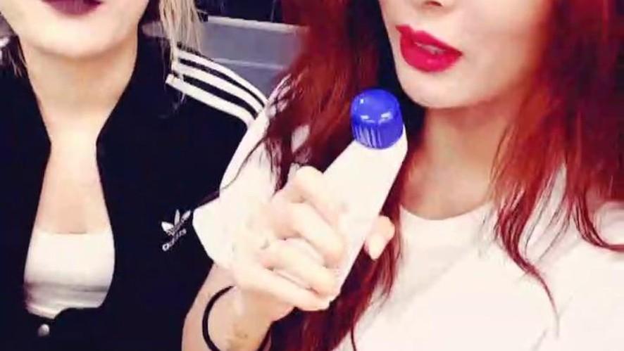 [연습현아] 주말엔 연습이지현아♡