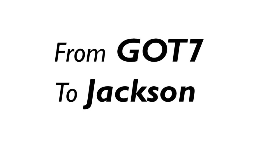 For Jackson, From 진심친구